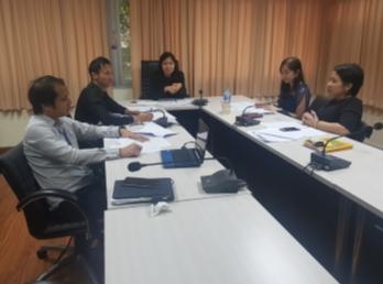 ประชุมทีมผู้บริหารบัณฑิตวิทยาลัย