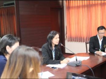 ประชุมบุคลากรสายสนับสนุนวิชาการบัณฑิตวิทยาลัย ครั้งที่ 4/2560