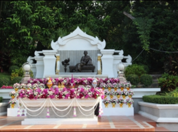 พิธีบวงสรวงและบำเพ็ญกุศลทักษิณานุปทานถวายแด่ สมเด็จพระนางเจ้าสุนันทากุมารีรัตน์ พระบรมราชเทวี