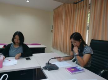 ประชุมคณะกรรมการดำเนินงานประชุมวิชาการ 1/2561