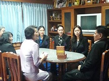 สาขาวิชาการบริหารการศึกษา ไปนิเทศ นักศึกษาฝึกประสบการณ์วิชาชีพ ณ สำนักงานเขตพื้นที่การศึกษาประถมศึกษานนทบุรี เขต 1