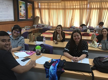สาขาวิชาการออกแบบการเรียนการสอน จัดสอนรายวิชา ENG5101 ภาษาอังกฤษสำหรับบัณฑิตศึกษา