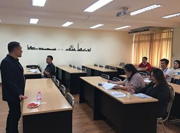 บรรยากาศการเรียนการสอน วันที่ 6 ตุลาคม 2561 หลักสูตรบริหารธุรกิจดุษฎีบัณฑิต (D.B.A.)