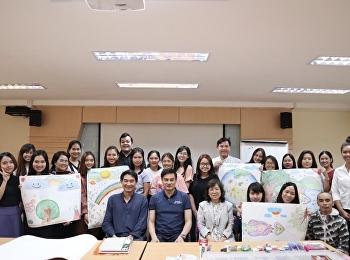 สาขาวิชาการแพทย์แผนไทยประยุกต์ ได้จัดกิจกรรมศิลปะบำบัด