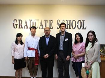 บัณฑิตวิทยาลัยประชุมหารือความร่วมมือกับคณบดี Graduate School of Business Universiti Sains Malaysia