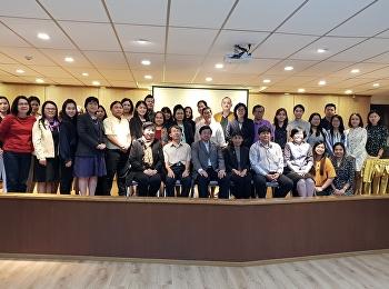 สาขาวิชาการแพทย์แผนไทยประยุกต์ ได้จัดโครงการการวิจัยและพัฒนาในระดับพรีคลินิค