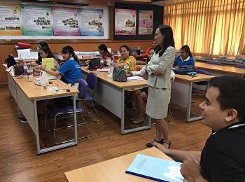 หลักสูตรครุศาสตรมหาบัณฑิต การออกแบบการเรียนการสอน เปิดสอนรายวิชาสถิติเพื่อการวิจัยทางการศึกษา