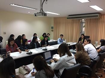 บัณฑิตวิทยาลัยประชุมบุคลากรสายสนับสนุน ครั้งที่ 8/2561