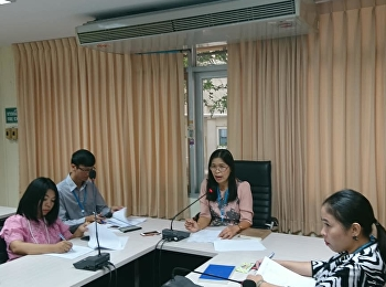 บัณฑิตวิทยาลัยประชุมติดตามและรายงานความก้าวหน้าการจัดโครงการประชุมวิชาการเสนอผลงานวิจัย ระดับชาติ และนานาชาติ ครั้งที่ 10