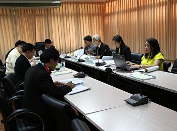 บัณฑิตวิทยาลัยจัดประชุมคณะกรรมการอำนวยการบัณฑิตวิทยาลัย ครั้งที่ 5/2562 (วาระพิเศษ)