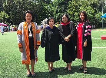 ขอแสดงความยินดีกับมหาบัณฑิต สาขาวิชาการบริหารการศึกษา