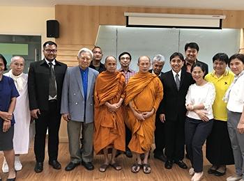 ขอแสดงความยินดีกับพระมหาสุริยา นักศึกษาหลักสูตรปรัชญาดุษฎีบัณฑิต สาขาวิชาปรัชญาและจริยศาสตร์