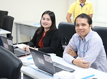 บุคลากรบัณฑิตวิทยาลัยเข้าร่วมอบรมการใช้ระบบสารสนเทศเพื่อการติดตามและประเมินผลการปฏิบัติราชการ