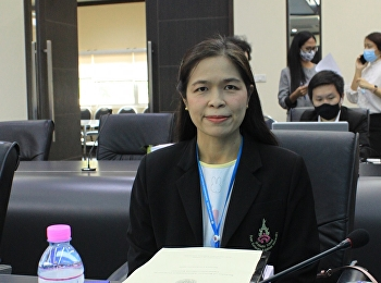Dean of Graduate School attend the Academic Council Meeting No. 8/2020