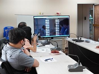 ประชุมหารือแนวทางการดำเนินงานขับเคลื่อนตัวชี้วัดการจัดอันดับมหาวิทยาลัย