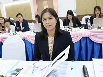 คณบดีบัณฑิตวิทยาลัยเข้าร่วมการประชุมคณะกรรมการบริหารมหาวิทยาลัย ครั้งที่ 12/2563