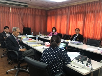 บรรยากาศการสอบเค้าโครงวิทยานิพนธ์หลักสูตรวิทยาศาสตรมหาบัณฑิต สาขาวิชาการแพทย์แผนไทยประยุกต์