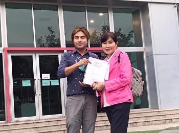 กรรมการบริหารหลักสูตรปริญญาเอก นิเทศศาสตร์ สวนสุนันทา ได้รับเชิญเป็นผู้ทรงคุณวุฒิวิพากษ์หลักสูตรปริญญาเอก นิเทศศาสตร์ มหาวิทยาลัยกรุงเทพธนบุรี