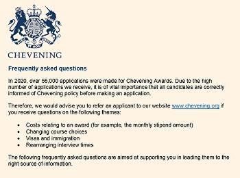 ประชาสัมพันธ์ทุน 2022-23 Chevening Fellowship at the British Library